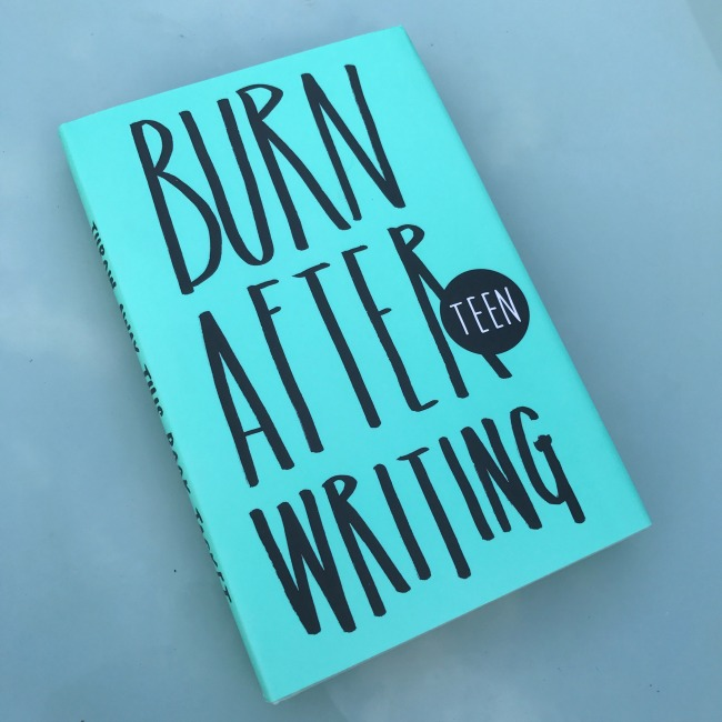 Burn After Writing, Diary, Journal, Teenagers, Gift, Present, Unusual Gift, Stocking Filler