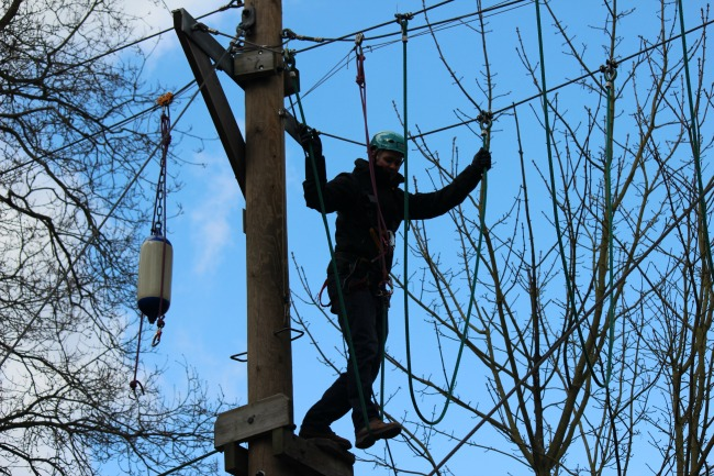 High Ropes, Treetops, Arial Rope Course, Rope Runners, Go Ape
